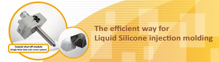 The efficient way for Liquid Silicone injection molding